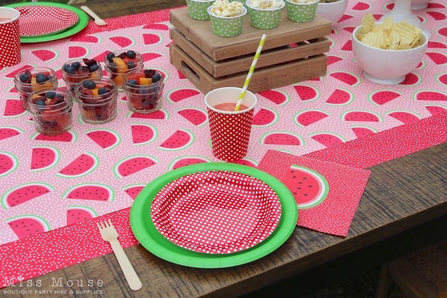 Watermelon Party Theme