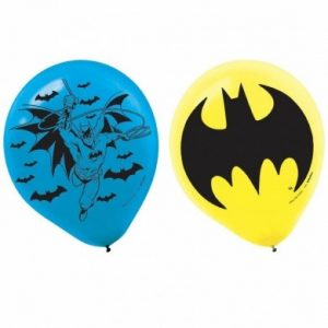 Our Batman Printed Latex Balloons are the perfect party decoration at your superhero party!