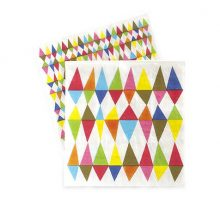 The Carnival Chaos Paper Napkins are perfect for carnival party theme!