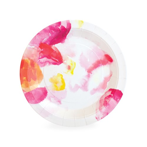 These Floral Escape dessert plates are a pretty paper plate perfect for very special events.  sc 1 st  Miss Mouse Boutique & Floral Escape Dessert Plates by Paper Eskimo