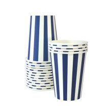 Enjoy your party drinks in the Naut So Navy paper cups by Paper Eskimo.