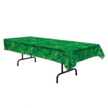A Palm Leaf Tablecover for your jungle party!