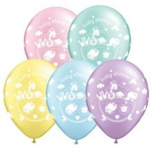 Adorable Ark Baby Shower Balloons