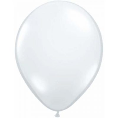 16in Diamond Clear Balloons are large and perfect for confetti.