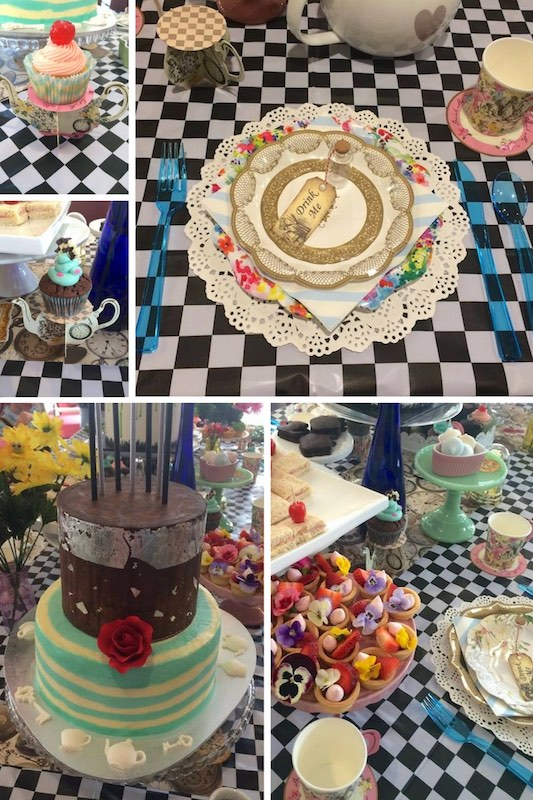 Inspiration for your Mad Hatters Tea party, a fabulous birthday party theme.