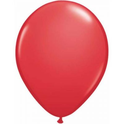 Red mini balloons by Qualatex