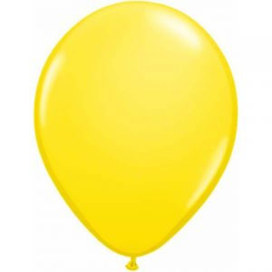 Yellow Mini Balloons 5""