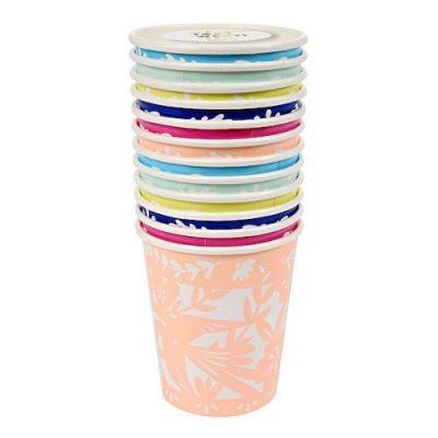 Fiesta cups by Meri Meri