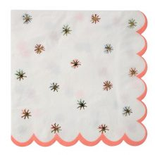 Nutcracker Gold Star Napkins by Meri Meri