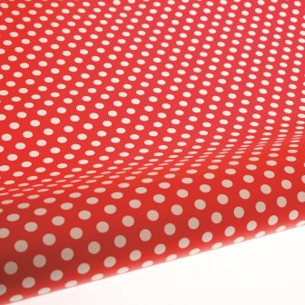 Table Runner / Gift Wrap ~ Red Spot