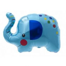 Blue Elephant Foil Balloon by North Star Balloons available in NZ.