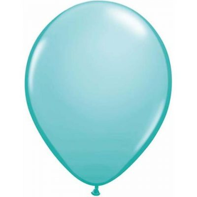 Caribbean Blue Balloons by Qualatex are a great tropical blue colour.