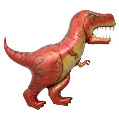 T-Rex Foil Balloons by North Star Balloons for your dinosaur party.