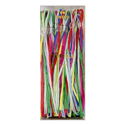 Toot Sweet Multicoloured Party Tassels