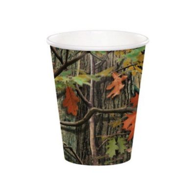 Hunting Camo Paper Cups for a hunting party!