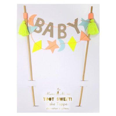 Baby Cake Topper by Meri Meri