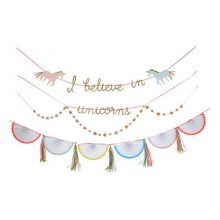 Unicorn garland by Meri Meri - unicorn birthday party decorations NZ