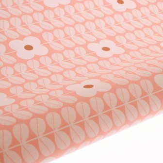 Primrose Peach gift wrap by hiPP Australia is perfect as a table runner.