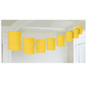Yellow Lantern Garland NZ