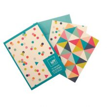 Confetti & Kaleidoscope Notecards NZ