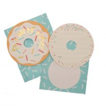 Donut party invitations by hiPP Australia available in NZ.