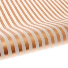 Creme Gold Stripe Table Runner Gift Wrap