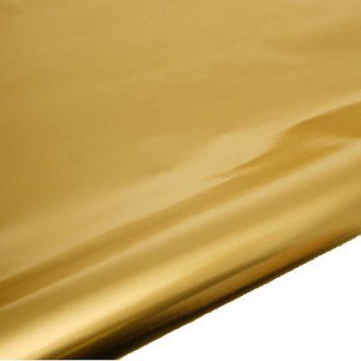 Gold Foil gift wrap table runner