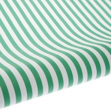Green Stripe Table Runner and Gift Wrap