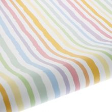 Rainbow Paint Stripe Table Runner Gift Wrap