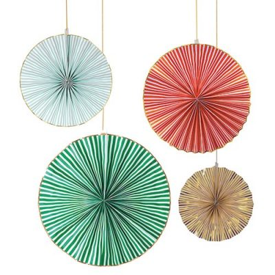 Really Really Big Coloured Pinwheel Decorations by Meri Meri.