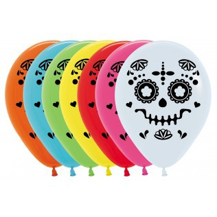 Day of the Dead Catrina Balloons by Sempertex available in NZ.
