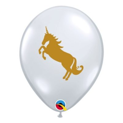 Diamond Clear Unicorn Balloon available in NZ