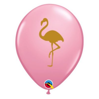 Pink flamingo balloons by Qualatex available in NZ.