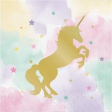 Unicorn Sparkle Paper Napkins NZ