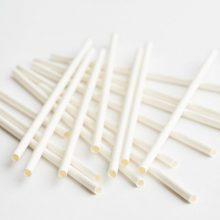 Bulk white paper straws available in NZ
