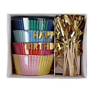 Happy Birthday Cupcake Kit by Meri Meri available from Miss Mouse Boutique NZ.