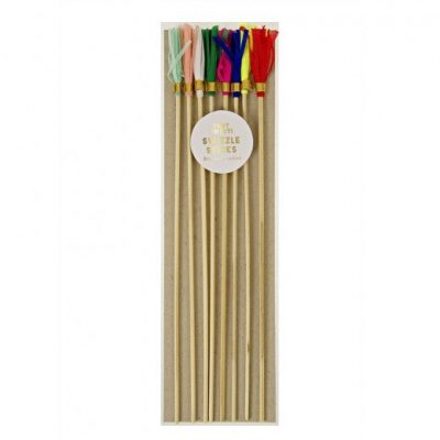 Toot Sweet Swizzle Sticks by Meri Meri.